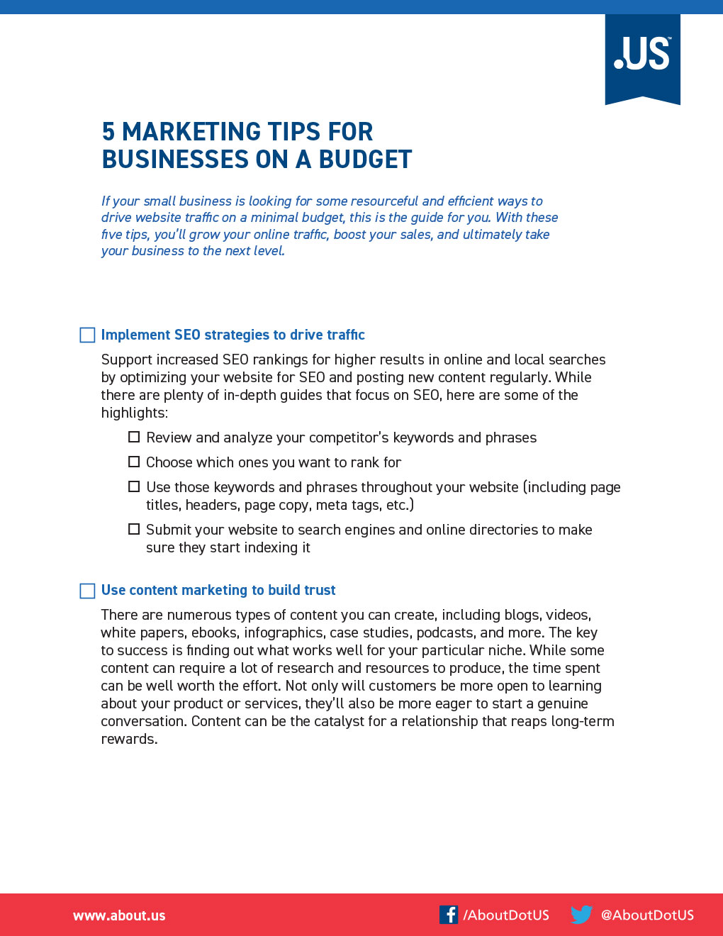 Marketing Tips for Businesses