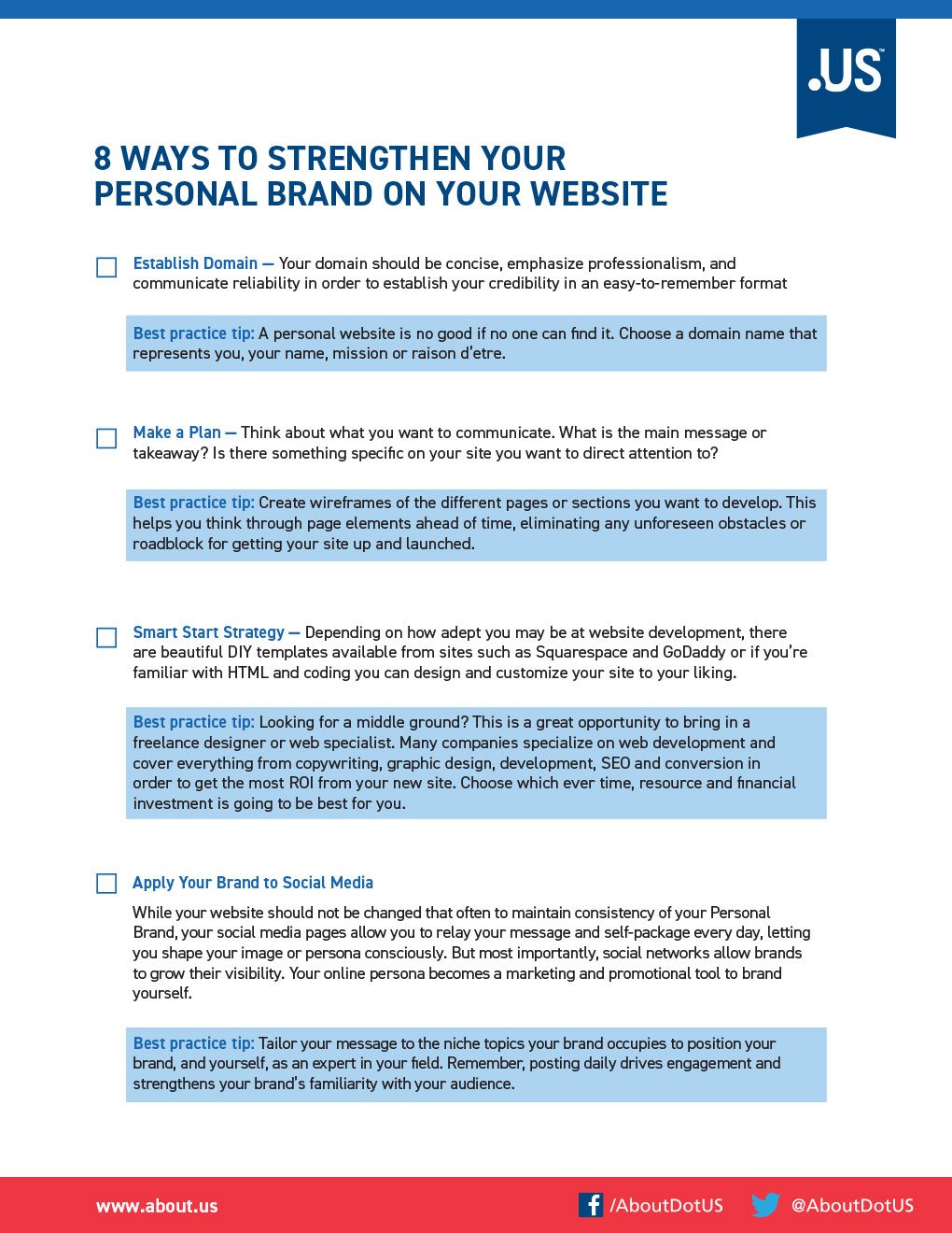Strengthen Your Personal Brand